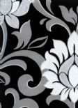 Reflections Divine Onyx Wallpaper 1912/905 By Prestigious Textiles